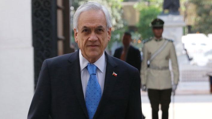 Presidente Piñera se comunica con ex Mandatarios: Vía telefónica con Bachelet y presencialmente con Lagos y Frei