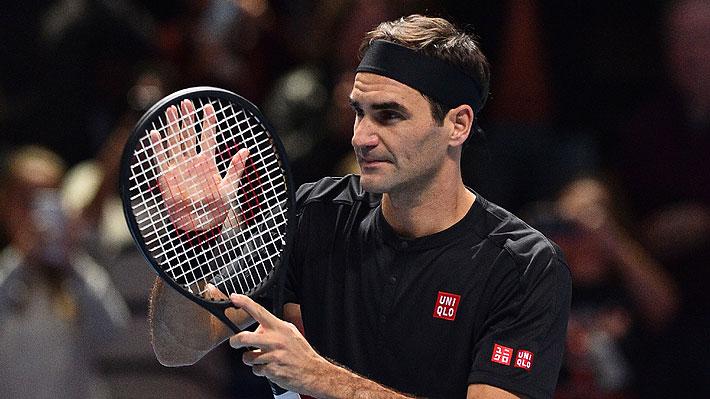 Federer derrota a Berrettini y se jugará ante Djokovic sus chances de avanzar a semis del Masters de Londres