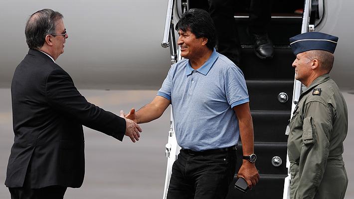 """Evo Morales llega a México en calidad de asilado político: """"Me salvaron la vida"""""""