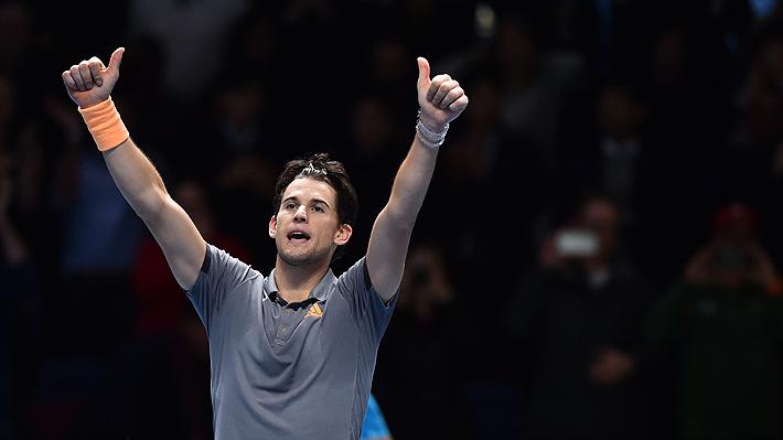 Dominic Thiem da otro golpe en el Masters de Londres: Tras vencer a Federer, ahora el pupilo de Massú le ganó a Djokovic