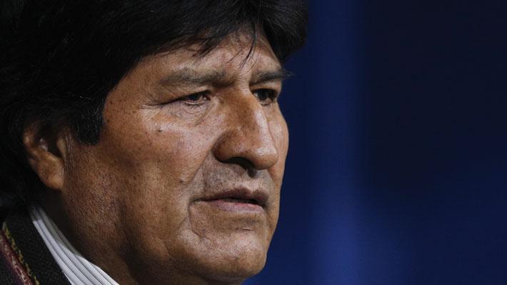 """Morales tilda de """"golpe"""" la """"autoproclamación"""" de la senadora Áñez como Presidenta interina de Bolivia"""