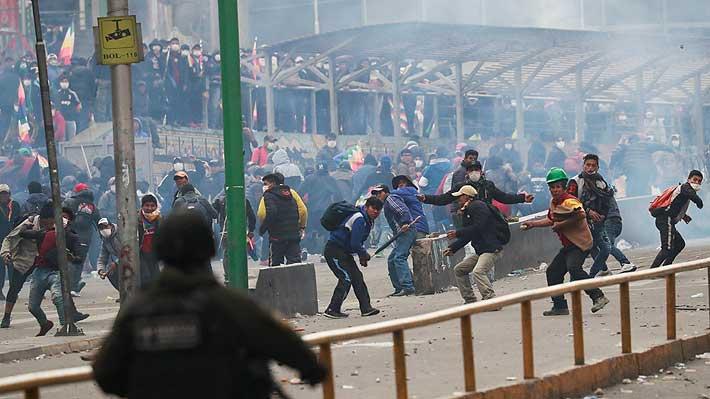 """Evo Morales pide ayuda a la ONU y la Iglesia Católica para """"pacificar"""" Bolivia mediante el diálogo"""