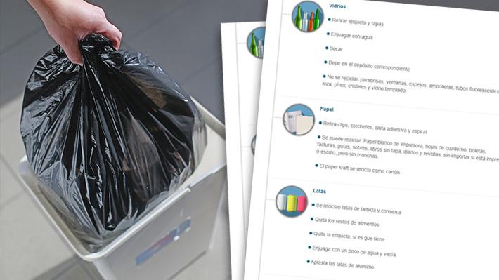 Paro de recolectores: Conoce qué medidas se pueden adoptar para separar de manera correcta los residuos del hogar