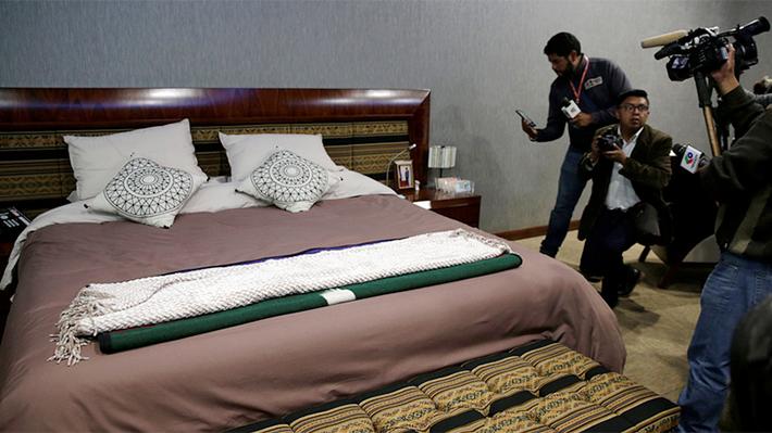 Galería: Así era la desconocida suite de Evo Morales en la sede de Gobierno en Bolivia