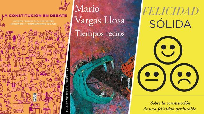 Historia, política y espiritualidad: Las temáticas de los libros más comprados en Chile en el último mes