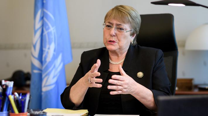 "Bachelet por situación en Bolivia: ""Al menos 17 personas han fallecido"""