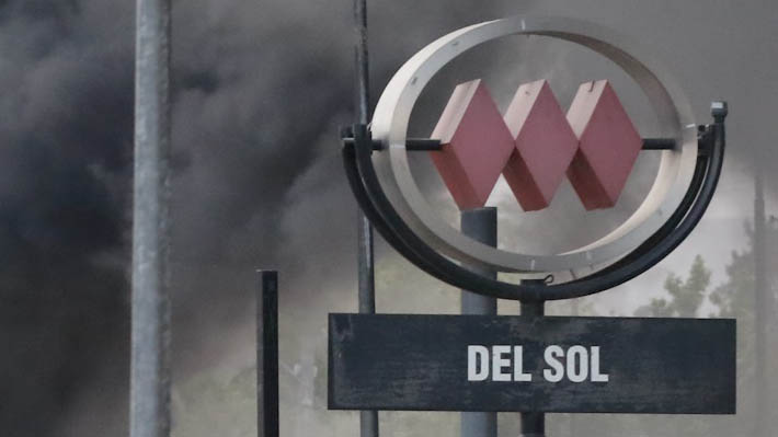 """Decretan prisión preventiva al primer imputado por """"robar, incendiar y promover la destrucción"""" de la estación Del Sol"""