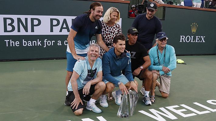 Cinco títulos y finalista del Masters de Londres: El gran año de Dominic Thiem bajo la tutela de Nicolás Massú