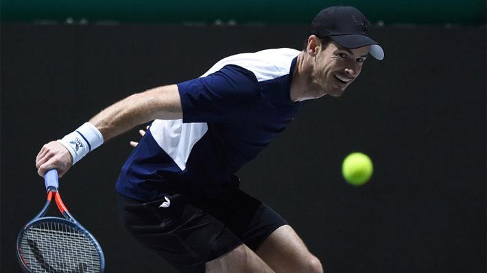 Así fue la visita de lujo de Andy Murray al equipo chileno de Copa Davis: Práctica con Garin y charlas con Ríos y Massú