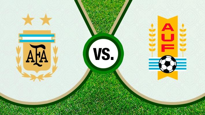 Mira cómo se dio la intensa paridad entre Argentina y Uruguay en el clásico