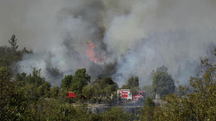 """Intendente de Valparaíso y querellas por incendios: """"Hay indicios de premeditación, intención de causar un daño público"""""""