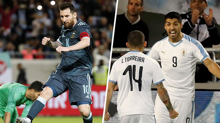 Argentina y Uruguay igualaron en un vibrante clásico en Israel... Mira los golazos del encuentro
