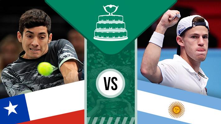 Repasa la derrota de Garin ante Schwartzman en la Copa Davis