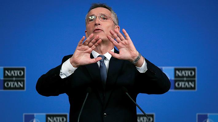 Secretario general de OTAN responde a Macron y afirma que el organismo no puede ser reemplazado por la UE
