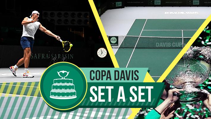 Revisa los resultados de este miércoles en la Copa Davis