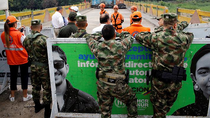 Colombia cierra sus pasos fronterizos ante jornada de protestas contra Duque este jueves