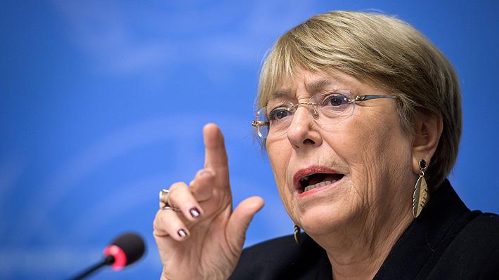 """Bachelet y movimientos sociales en el mundo: """"Denotan un fallo fundamental de la política y la economía contemporáneas"""""""
