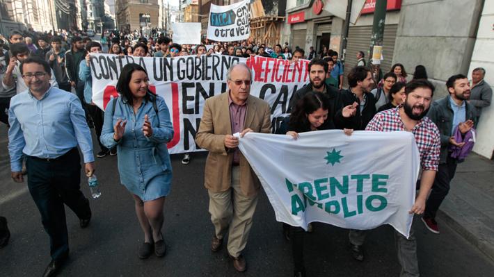 Partido Ecologista renuncia al Frente Amplio y agudiza tensión en el bloque tras acuerdo por nueva Constitución
