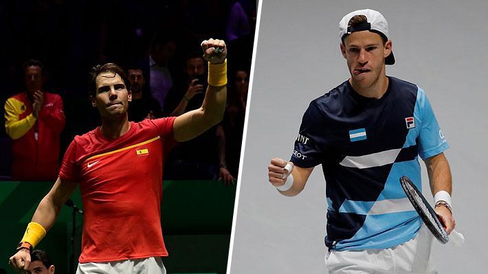 Argentina pasa con sufrimiento y va con la España de Nadal: Los clasificados y los cruces para los cuartos de final de la Davis
