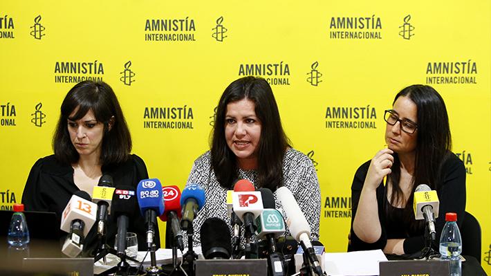 """Amnistía Internacional cuestiona actuar policial y dice que busca """"desincentivar la protesta"""""""