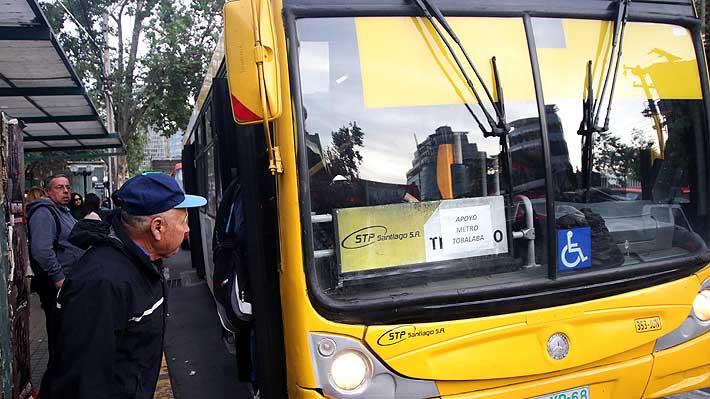 Transportes informa que 109 buses apoyarán las labores de Metro este viernes