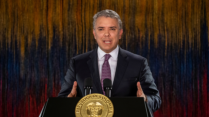Iván Duque anuncia que el diálogo nacional en Colombia comenzará este domingo luego de tres días de protestas
