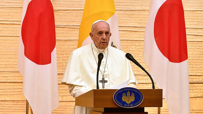Papa Francisco apela en Japón al multilateralismo para abordar la cuestión nuclear