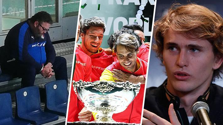 Fuertes críticas, polémicas, situaciones insólitas, Nadal como héroe... Lo que dejó la Davis de Piqué ganada por España