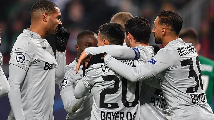 Mira la tremenda asistencia de Charles Aránguiz que terminó en un golazo en importante triunfo del Leverkusen en Champions