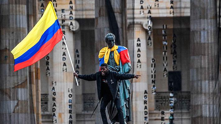 Miles de colombianos salieron de nuevo a la calle a pesar del diálogo propuesto por Iván Duque