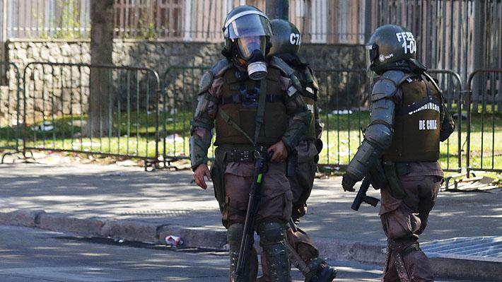 España proporcionará entrenamiento a carabineros antidisturbios tras solicitud del Gobierno chileno
