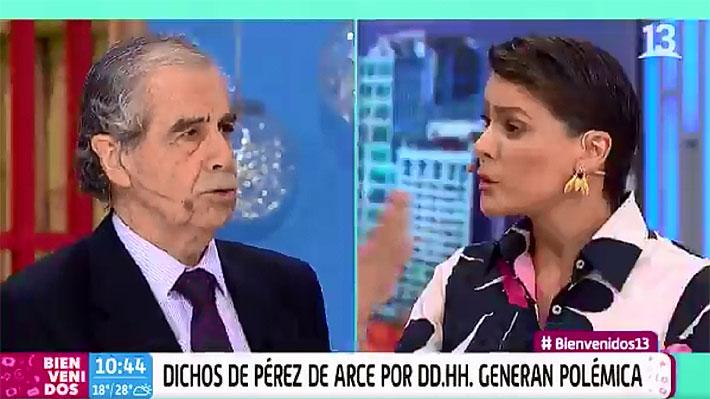 """""""No es lo más importante"""": Polémica frase sobre DD.HH. terminó con la salida de Hermógenes Pérez de Arce en """"Bienvenidos"""""""