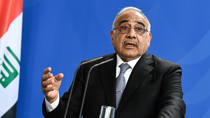 Primer Ministro de Irak anuncia su dimisión tras dos meses de protestas en su contra