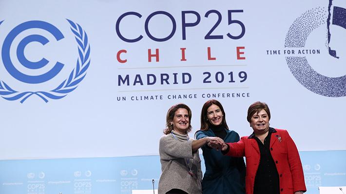 Ministra Schmidt recibe las instalaciones donde se realizará la COP25 desde este lunes en Madrid