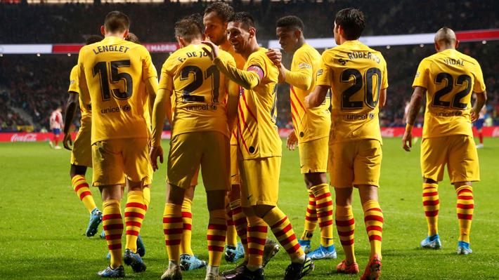 Mira el golazo de Messi y las atajadas con las que se lució Ter Stegen en la victoria del Barcelona ante el Atlético