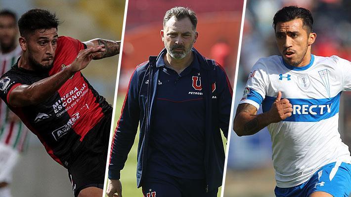"""Movidas: Colo Colo iría por goleador argentino, la U renovó a Caputto y realizaría una """"poda"""" y la UC también tendría bajas"""