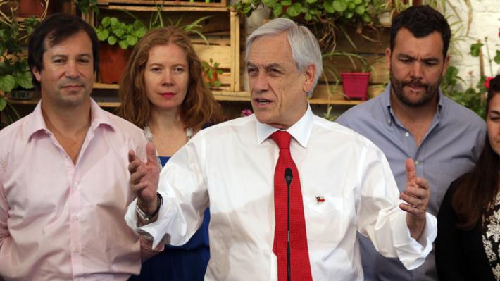 Presidente Piñera anuncia bono de $100 mil para más de 1 millón 300 mil  familias