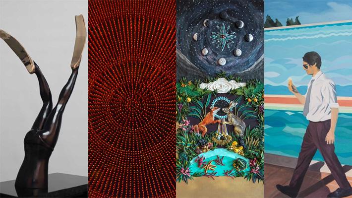 Artistas chilenos se presentan en la Semana del Arte de Miami, una vitrina internacional para impulsar su carrera