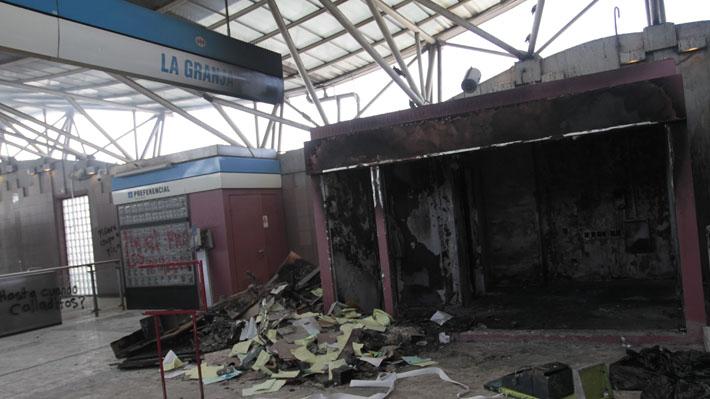 A 48 días del 18-O: Seis personas han sido detenidas por daños e incendios a estaciones de Metro