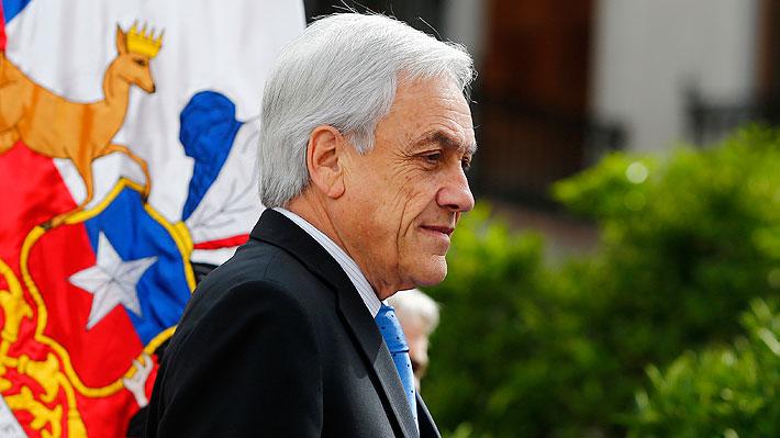 """Defensa de Presidente Piñera sostiene que acusación constitucional contra el Mandatario """"no es admisible"""""""
