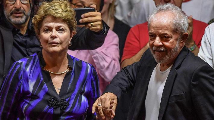 Juez federal absuelve a Lula da Silva y Dilma Rousseff de supuesto desvío de dinero público hacia su partido