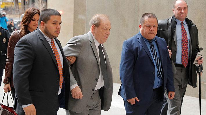 Fiscalía acusa a Harvey Weinstein de violar la libertad condicional y pide subir su fianza a US$ 5 millones
