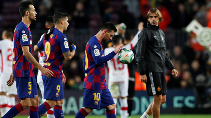 "Vidal jugó en un verdadero espectáculo del Barcelona que goleó al Mallorca con un ""show"" de Messi"
