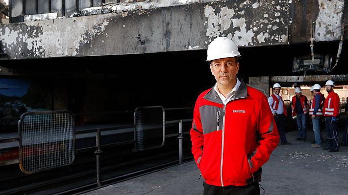 """Presidente de Metro revela que ataques a estaciones han hecho """"repensar el diseño"""" de las futuras líneas de la red"""