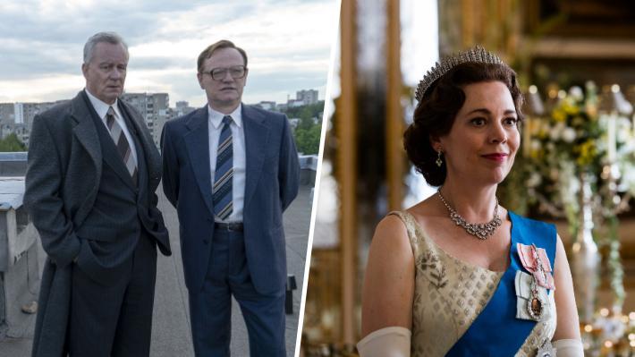 """Globos de Oro: """"The Crown"""" y """"Chernobyl"""" entre las series con más nominaciones para la edición 2020"""
