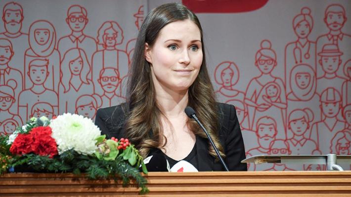 Con 34 años, la finlandesa Sanna Marin será la Primera Ministra más joven del mundo