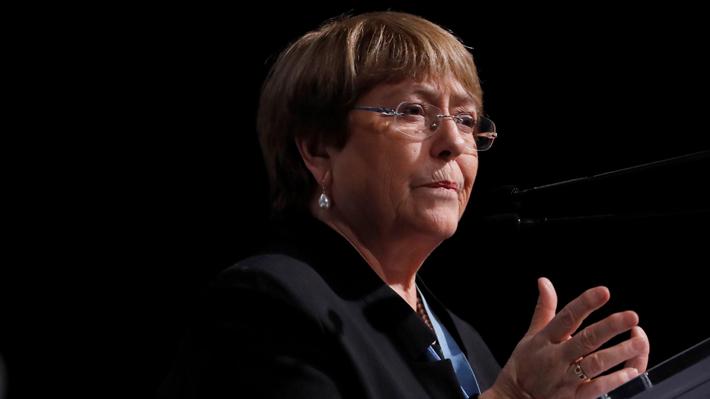 """Bachelet asegura que informe de la ONU por derechos humanos en Chile está """"a punto"""" de ser entregado al Gobierno"""