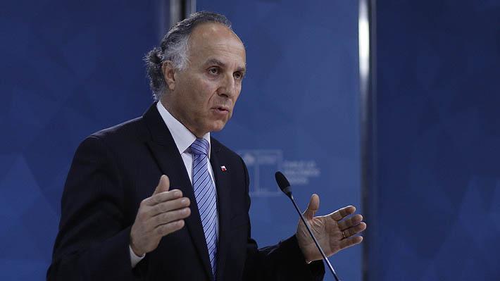 """Canciller asegura que crisis """"alerta que el PIB no lo es todo"""" y dice que sistema electoral """"dificulta"""" acuerdos"""