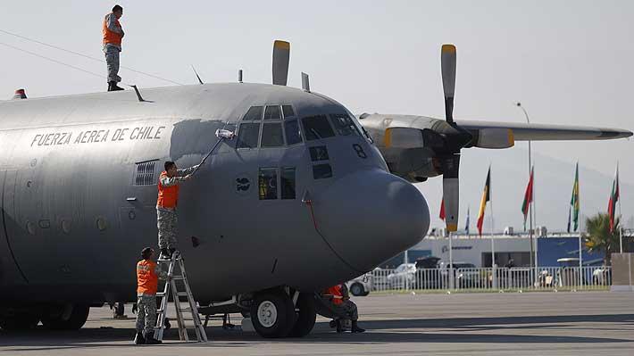 FACh asegura que han mejorado las condiciones meteorológicas en el mar de Drake para la búsqueda del C-130