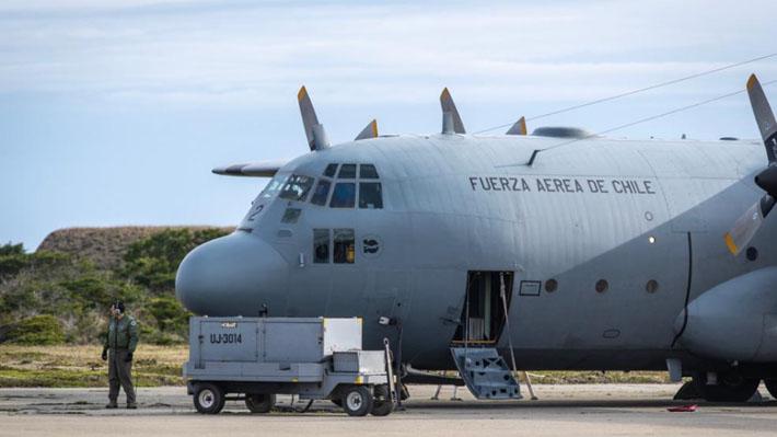 FACh descarta que Hércules haya llevado carga inflamable al momento de extraviarse camino a la Antártica
